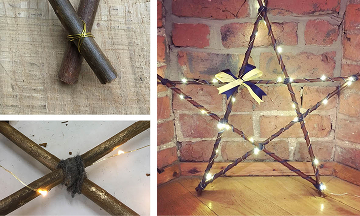 Handmade Willow Star